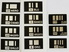 Bar code set for Roland Colorcamm PC-600 * full set
