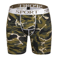 Mens Compression Shorts Fitness Gym Underwear Sports Camouflage Short Tights