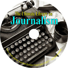 90 Books on DVD – Journalism How to History Media News Newspaper Journalist