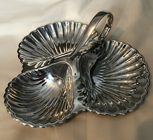Vintage Silver Plated Serving Dish By William Suckling & Sons c.1920's