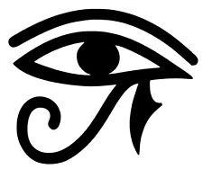 2 Pegatinas de vinilo,Aufkleber,sticker,skate,snow,surf,Ojo Horus,Egipto,496