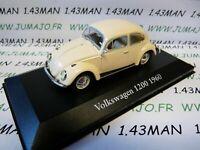 CH4G : Voitures Mythiques Atlas Chapatte : Volkswagen beetle cox 1200 1960