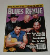 2001 BLUES REVUE MAGAZINE #69 FABULOUS THUNDERBIRDS MANCE LIPSCOMB HARP TODAY