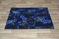 Gel Back Star Wars Rug Millennium Falcon 133cm x 95cm Non Slip Kids Bedroom Rug