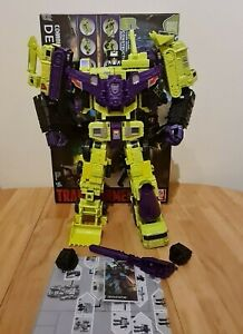 Transformers Combiner Wars DEVASTATOR with 3rd Party D.N.A Upgrade kit