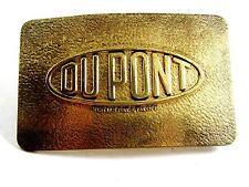 DuPont Reg. US Pat & TM Office Belt Buckle 12022013