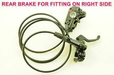 SHIMANO DEORE M615 EUROPEAN REAR HYDRAULIC DISC BRAKE WITH RIGHTHAND LEVER