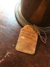 Bronze Antique Apothecary / Pharmacist Mortar & Pestle