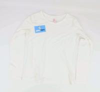 Next Womens Size 12 Cotton Blend White T-Shirt (Regular)