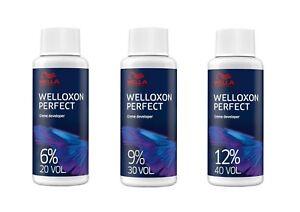 Wella Welloxon Perfect Creme Developer 6%,9%,12% 60ml