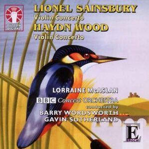 Lionel Sainsbury & Haydn Wood VIOLIN CONCERTOS - CDLX7245
