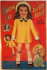 Queen Holden - CAROLYN LEE CUT-OUT DOLLS Paper Dolls [Uncut]