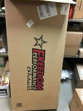 Freedom Performance Indian True Dual Header Exhaust System Black