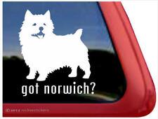 Got Norwich? - Norwich Terrier Window Decal