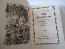 THE MOONSTONE WILKIE COLLINS HERITAGE PRESS EDITION SLIPCASE CLUB HARDCOVER HC