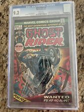 GHOST RIDER #1 CGC 9.2 WHITE ('73) KEY issue - Son of Satan! Hot One!