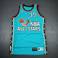 """100% Authentic Grant Hill Signed Champion 1996 All Star Game Issued Jersey 48+4"""""""