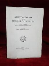 ARCHIVIO STORICO PROVINCE NAPOLETANE - Anno III-LXXXII - 1964