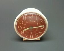 FOR PARTS! Westclox Wind-up Alarm Clock Glow-In-The-Dark