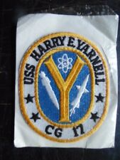 INSIGNE TISSU PATCH US NAVY USS HARRY E. YARNELL CG-17 / SWISS-TEX / MARINE USA