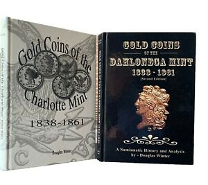 Winter: Two Works on Branch Mint Gold - Dahlonega & Charlotte