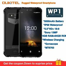 "OUKITEL WP1 IP68 Waterproof Rugged 5.5"" Smartphone 5000mAh Android 8.1 4GB+64GB"
