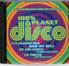 100% Planet Disco - I love to love , We Are Family - cd usato Cd_1067