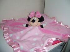 Minnie Mouse safety lovey blanket