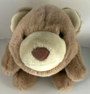 "VTG GUND 1980 Snuffles Teddy Bear soft plush stuffed animal toy 10"" light brown"