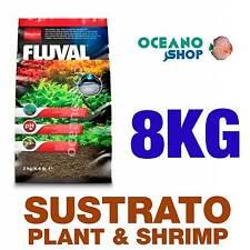 SUSTRATO FLUVAL PLANT & SHRIMP 8kg calidad especial plantas gambario acuario