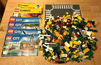 NEUES, unbenutztes Lego-Paket incl. Steine und Straßenplatte, Bauanleitung (1)