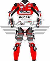 JORGE LORENZO DUCATI NETAPP UNIPOLSAI 2018 MOTOGP MOTORBIKE LEATHER RACING SUIT