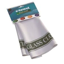E CLOTH GLASS TOWEL SUPER ABSORBENT TEA CLOTH -  4 x BETTER THAN TEA TOWELS