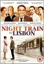 Night Train To Lisbon - Jeremy Irons, Melanie Laurent - New DVD