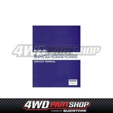 WORKSHOP SERVICE MANUAL - Suzuki Sierra SJ40 1.0 L F10A
