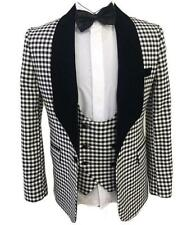3pcs Mens Slim Blazer Jacket Pants Vest Formal Weddding Dress Suit Costume Sbox1
