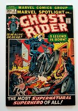 Marvel Spotlight #5 Vol 1 Nice, Tight Mid Grade 1st Appearance of Ghost Rider!