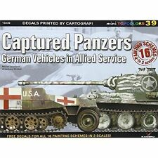 Captured Panzers: German Vehicles in Allied Service by Marek Jaszczolt (Paperbac