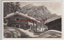 (89758) Foto AK Skihütte Blöckenau, 1936