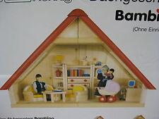 Puppenhaus Holz  ~  Neu ! ~  BODO HENNIG - NIC ~  Dachgeschoss BAMBINO ~ Waldorf