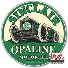 "6"" SINCLAIR OPALINE MOTOR OIL GASOLINE GAS DECAL"