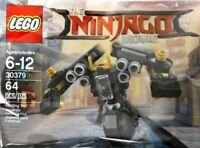 LEGO The ninjago Film Quake Mech 30379 Sac en Plastique Neuf Emballé