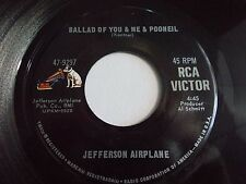 Jefferson Airplane Ballad Of You Me & Pooneil / Two Heads 45 1968 Vinyl Record