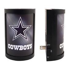 DALLAS COWBOYS PLUG-IN LED NIGHT LIGHT WITH LIGHT SENSOR NFL 3 SETTINGS SPORTS