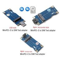 Mini PCI-E to USB Adapter With SIM card Slot for 3G 4G WWAN/LTE Module