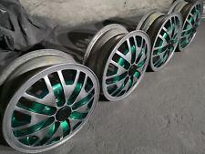 """VW Audi OEM 83' alloy rims 13"""" 4x100 vag honda opel vauxhall rare ori retro cool"""