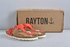 Women's Bayton Mercure T-Strap Sandals, Bright Coral, 36 (5.5)