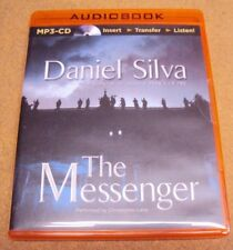 The Messenger by Daniel Silva Suspense Audiobook Unabridged MP3 CD