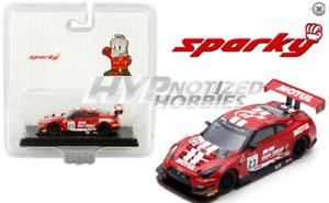 SPARK 1:64 2019 SPARKY NISSAN GT-R NISMO GT3 RED Y128B