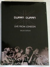 DURAN DURAN - LIVE FROM LONDON - DVD+ CD Deluxe Edition SEALED Sigillato